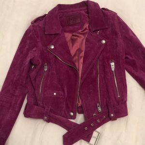 Blank NYC suede leather jacket. Brand new.
